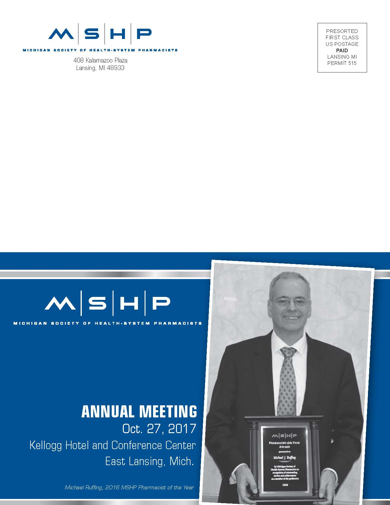 MPA | MSHP Annual Meeting - Oct  27, 2017